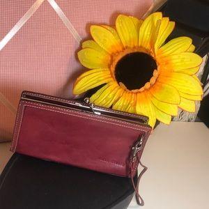 Wilson Leather Pelle Studio clutch bag